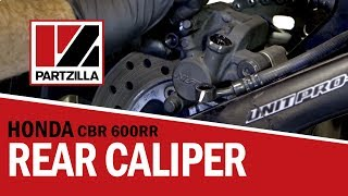Rear Brake Caliper Rebuild on a Honda CBR 600 RR | Partzilla.com