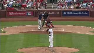 【野球・MLB】Yadier Molinaの強肩を見よう 2012版
