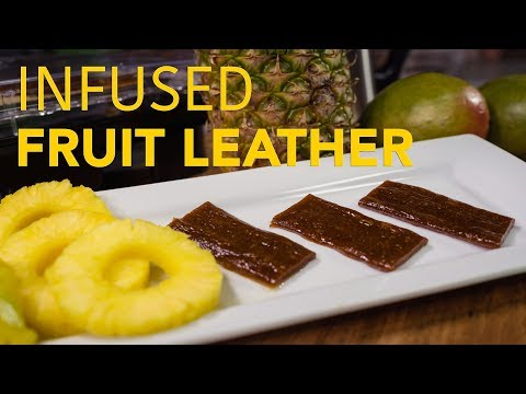 Fruit Leather Gummies - Infused Food How To - MagicalButter.com
