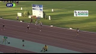 Τα 200μ γυναικών, το νταμπλ και  οι δηλώσεις της Μαρίας Μπελιμπασάκη - Παν.Πρωτάθλημα Στίβου