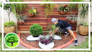 💚 DIY - GARDEN DECORATION 9 / LANDSCAPING DESIGN