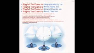 CHIKKAZ - RIGHT TO DANCE (ORIGINAL CLUBMIX)