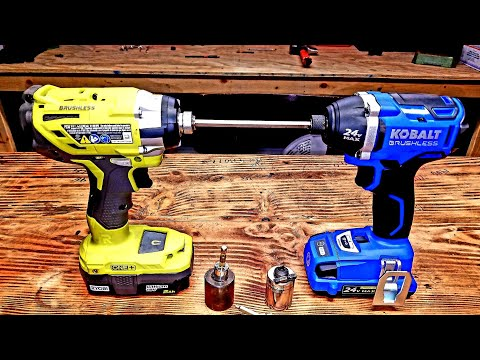 Testing the Cheapest impact drivers, Home Depot VS Lowes.
