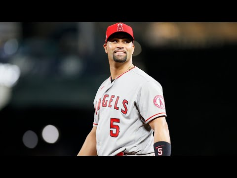 Los Angeles Angels release Albert Pujols in final season of 10-year ...