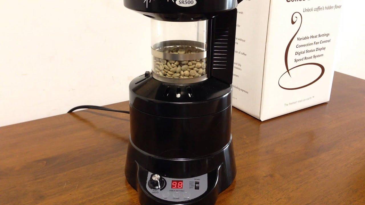 Home Roasting Coffee ~ Home roasting coffee with the fresh roast sr youtube