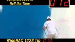 Окраска стены с помощью крскопульта GRACO(, 2010-11-26T11:21:52.000Z)