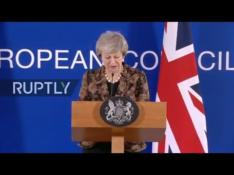LIVE: Theresa May National Statement from the European Council Summit in Brussels
