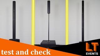 Säulensysteme von The box pro, Behringer und LD Systems im Test! | test and check