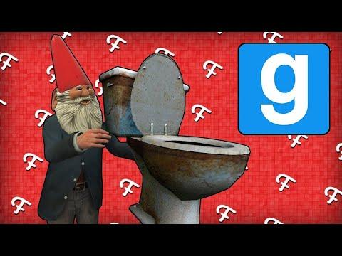 Gmod: Stuck In Toilet, Trolling Teddy, Secret Spot! (Garry's Mod Hide and Seek)