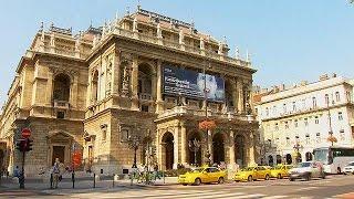 видео Венгерский Оперный Театр в Будапеште