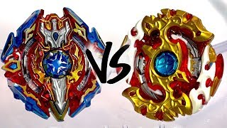 BATTLE: Spriggan Requiem .0.Zt VS Sieg Xcalibur .1.Ir - Beyblade Burst God/Evolution