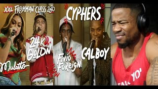 FIVIO FOREIGN, 24K GOLDN, CALBOY, MULATTO XXL FRESHMAN CLASS 2020 - REACTION