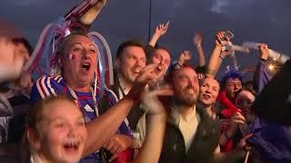 París celebra la clasificación de Francia a la final del Mundial (VIDEO)
