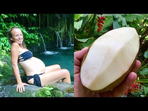 Eating the famous WHITE MANGO - best tasting mango in the world!