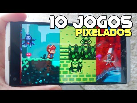 10 MELHORES JOGOS PIXELADOS DE TODOS OS TEMPOS NO MOBILE