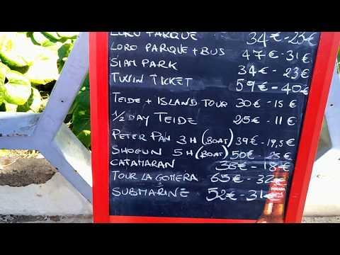 Экскурсии на Тенерифе. Цены на экскурсии в Лос Кристианосе Канарские острова
