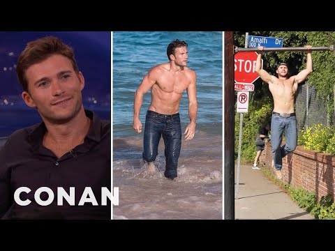 The Internet Is Awash With Shirtless Photos Of Scott Eastwood  - CONAN on TBS