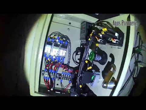 AUTO - OTOMATIS ON / OFF PLN ketika solar cell habis daya PANEL  SOLAR CELL