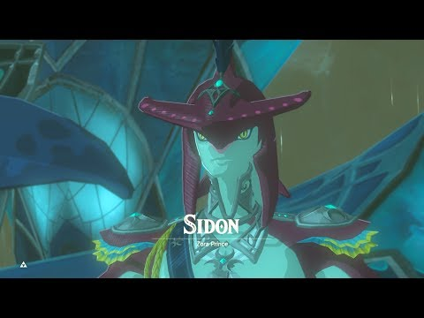 Zelda: BOTW (Seeing Sidon Early & Already Having 20+ Shock Arrows)