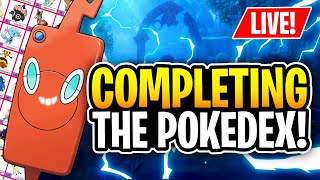 Completing My Pokedex! - Pokemon Sword and Shield Live Stream