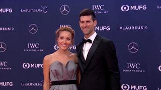 Novak Djokovic y su mujer se encuentran en su momento más dulce