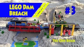 LEGO Train Flooded in Dam Breach - Full Video thumbnail
