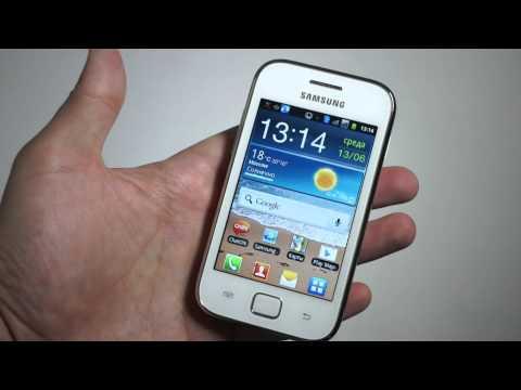 Видео Samsung Galaxy Ace Duos S6802