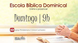 """EBD Online: """"Uma Vida de Obediência e Fé"""" -  22 de novembro de 2020"""
