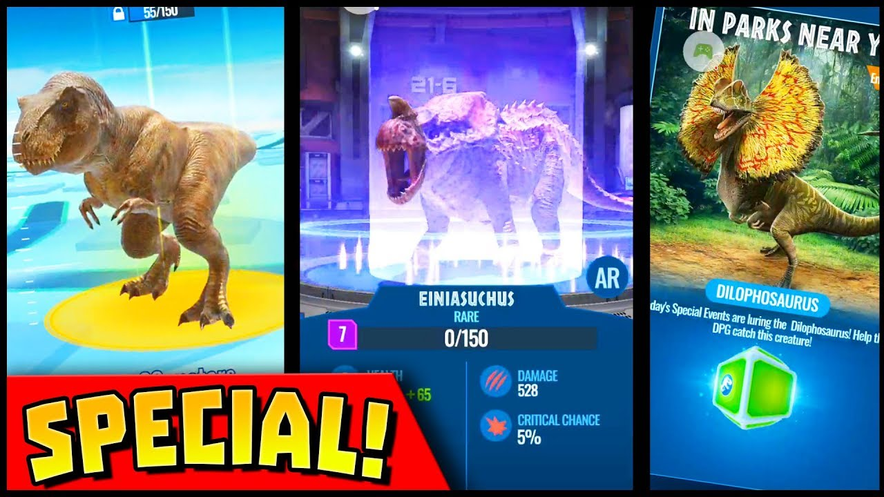 Jurassic World Alive Special Event My First Hybrid T Rex