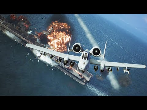 Ace Combat 7 Gameplay Walkthrough Part 7 - Mission 11