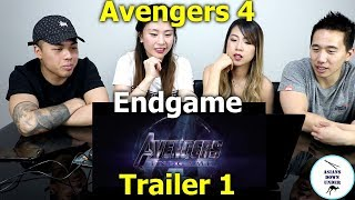 Marvel Studios' Avengers - Official Trailer Endgame | Reaction - Australian Asians