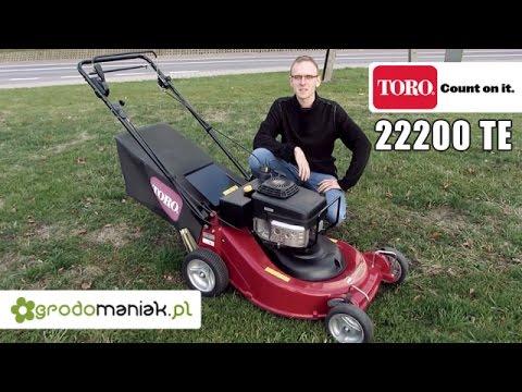 TORO 22200 TE - profesjonalna kosiarka aluminiowa ze sprzęgłem i pompą oleju