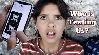 Don't ANSWER the Mysterious TEXT? The Hacker is following us || Part 2