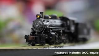 Bachmann N Scale 2-6-0 DCC Equipped