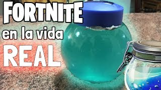 HOW TO MAKE FORTNITE'S SHIELD IN REAL LIFE