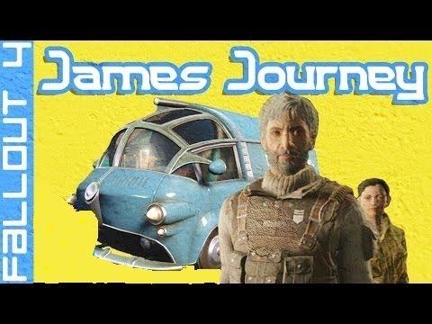 Fallout 4 Quest Mod: Jame's Journey part 5 Crazy alien woman :0