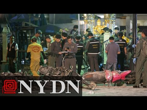 Explosion Rocks Popular Shrine in Central Bangkok Intersection, Killing at Least 12
