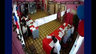 УИК 783 (п.Опарино) Они камер не боятся!