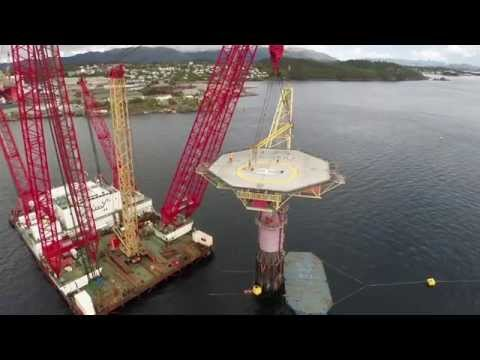 Offshore video 'Draugen' for Scaldis Salvage & Marine Contra