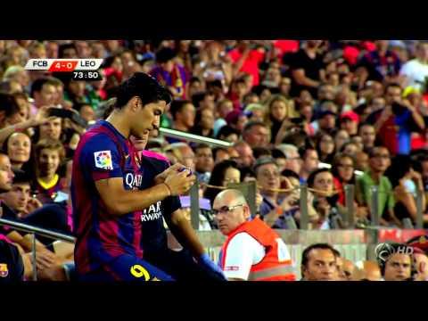 Luis Suárez debut FC Barcelona