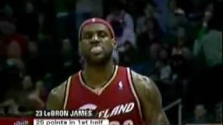 The race for the MVP:Lebron James vs Kobe Bryant 2009mix ( must see video)