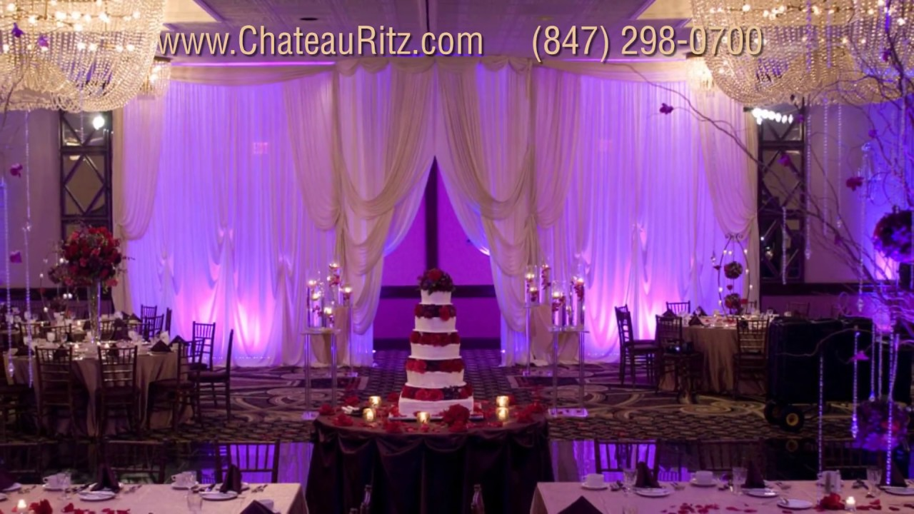 Elegant Banquet Hall For Weddings Events Chateau Ritz