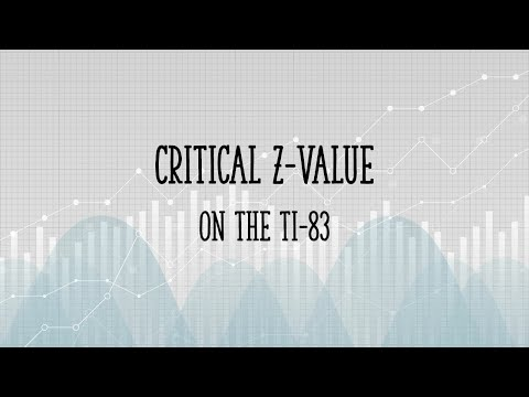 Critical Z Value TI 83: Easy Steps for the InvNorm Function
