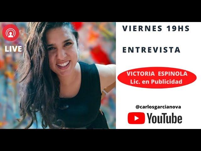 Entrevista con Victoria Espinola