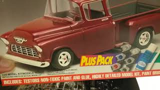 Update on the 68 Cadillac & my entry for Chevy truck month 55 Chevy stepside