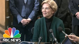 Sen. Elizabeth Warren Officially Files For The New Hampshire Primary | NBC News