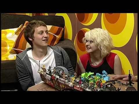 The Subways & Frank Sidebottom On CityLifeSocial Interview Alright Strawberry Blonde Shake! Shake!