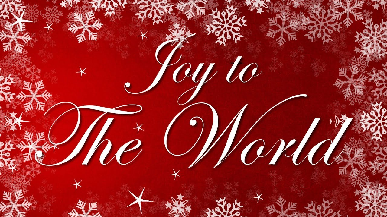 Joy To The World with Lyrics | Popular Traditional Christmas Song and Carol - YouTube