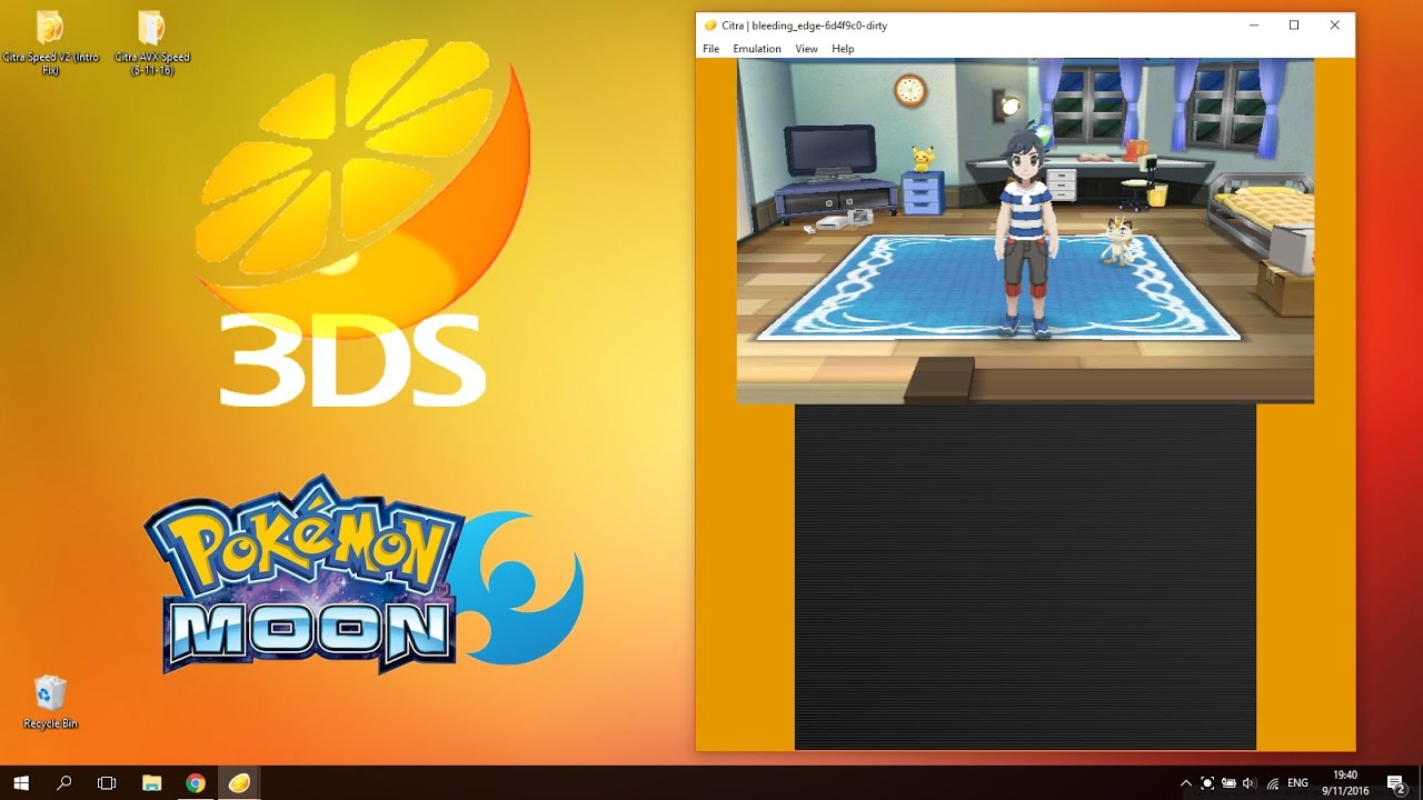 How to Play Pokemon Sun & Moon on PC (Crash Fixes + High Fps) (Citra 3DS  Emulator)