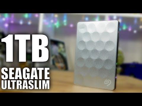 Seagate BackUp Plus UltraSlim Portable Hard Drive Review